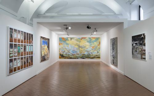 The New Frontiers of Painting _16.11.2017–25.02.2018_ph.© Roberto Marossi, courtesy Fondazione Stelline